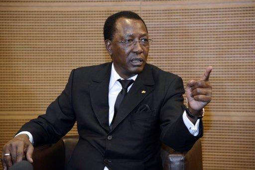 Le président tchadien Idriss Déby, le 6 décembre 2012 à Paris AFP/Archives Bertrand Guay