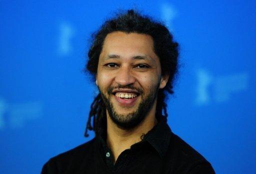 Le réalisateur franco-sénégalais Alain Gomis lors de la présentation de son film