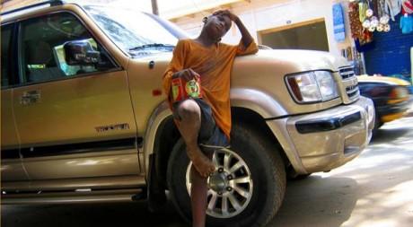 Mendiant Dakar/Reuters