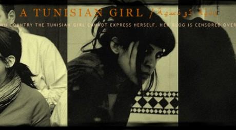 """Capture d'écran du blog """"A Tunisian Girl"""", le 24 Janvier 2011"""