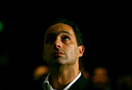 Gamal Moubarak au Forum économique mondial sur le Moyen-Orientà Charm El Cheikh, Egypte, le 21 mai 2006. REUTERS/Ronen Zvulun