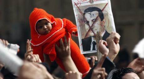 Manifestation anti-Moubarak au Caire, le 29 janvier 2011. REUTERS/ Goran Tomasevic