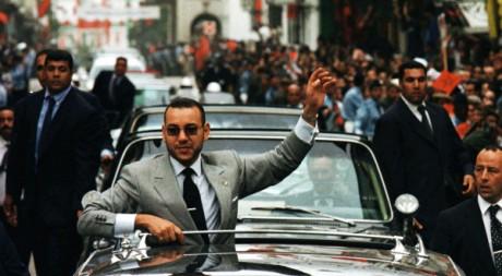 Mohammed VI visite le nord du Maroc, le 14 octobre 1999. REUTERS/Jean Blondin