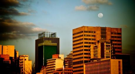 I see a bladdy moon rising, by Axel Bührmann via Flickr CC