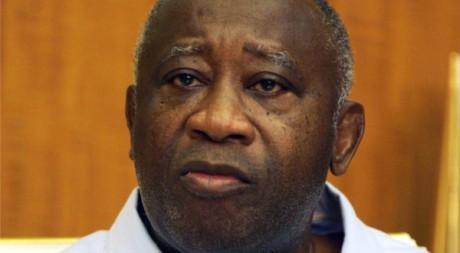 Laurent Gbagbo à Abidjan, le 12 janvier 2011. REUTERS/ Thierry Gouegnon