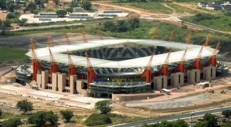 Le Mbombela Stadium, à Nelspruit., Afrique du Sud. REUTERS/Euroluftbild.de