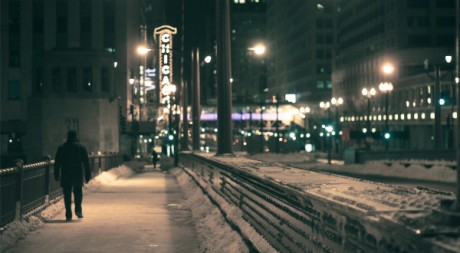 Walk the streets (Chicago near midnight), by JSFauxtaugraphy via Flickr CC