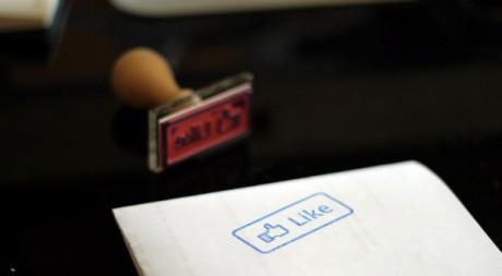 The Facebook Like Stamp, by Denis Dervisevic via Flickr CC