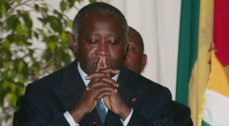 Laurent Gbagbo à Abidjan, le 23 octobre 2002. REUTERS/Eric Gaillard