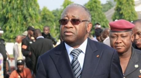 Laurent Gbagbo à Abidjan début février. Reuters/Thierry Gouegnon