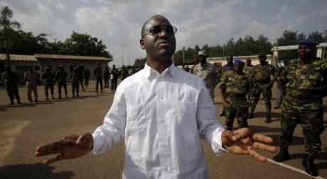 Guillaume Soro à Yamoussoukro, le 31 mars 2011. REUTERS/STR New