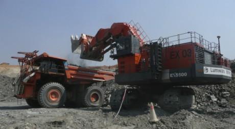 Dans une mine de cuivre à Lumwana, Zambie. Reuters/Ho New