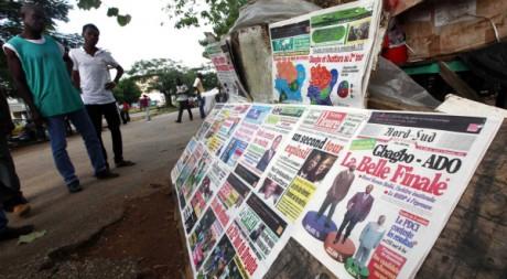 Quartier de Cocody, à Abidjan, le 4 novembre 2010. REUTERS/Thierry Gouegnon