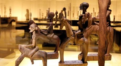 Exposition Dogon au musée du quai Branly, à Paris, France. REUTERS/Charles Platiau