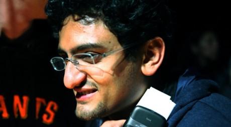 Wael Ghonim, © Joan TIlouine, tous droits réservés.