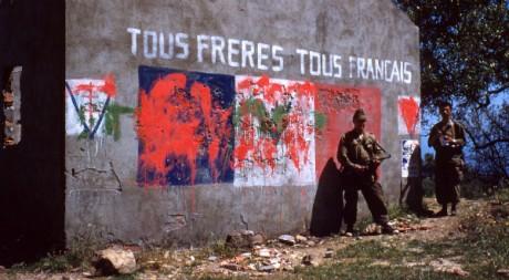 Photo prise pendant la guerre d'Algérie, by loranger via Flickr CC