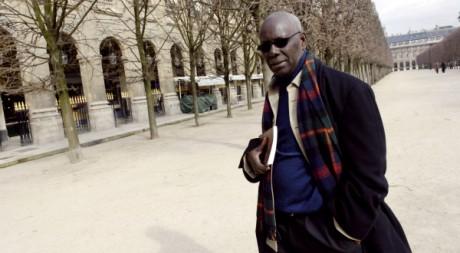 L'écrivain Boubacar Boris Diop à Paris en 2006. AFP/Stéphane de Sakutin