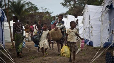 Dans un camp de réfugiés ivoiriens à Zorgowee, Liberia, en avril 2011. REUTERS/Ho New