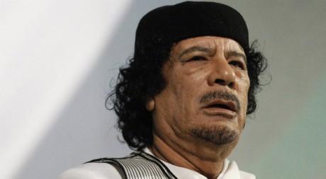 Mouammar Kadhafi à Rome en août 2010. REUTERS/Max Rossi