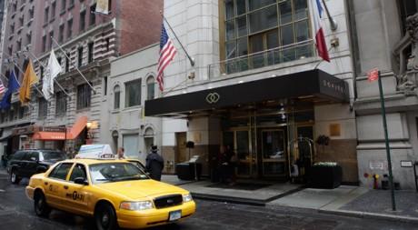 L'hôtel Sofitel de Times Square à New York. REUTERS/Chip East