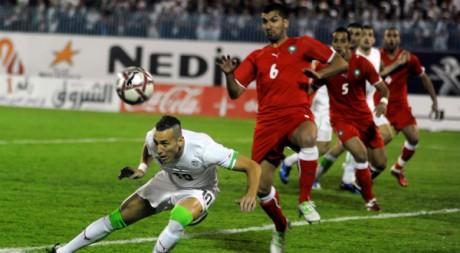 Match Algérie-Maroc à Annaba, le 27 mars 2011. FAROUK BATICHE / AFP