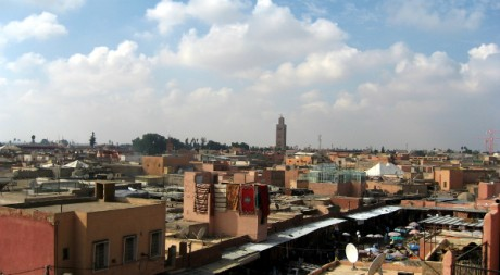 Marrakech, by wonker via Flickr CC