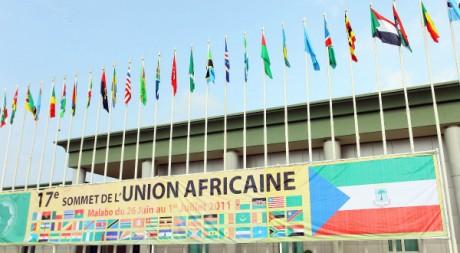 L'aéroport de Malabo le 29 juin 2011 à la veille du 17e sommet de l'Union africaine dans la ville de Sipopo. AFP PHOTO/STR