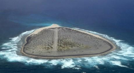 L'île de Tromelin. AFP PHOTO/OFF