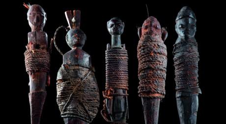 Sculptures vaudou Nago et Fon, Bénin. Collection Anne et Jacques Kerchache. Photo © Yuji Ono