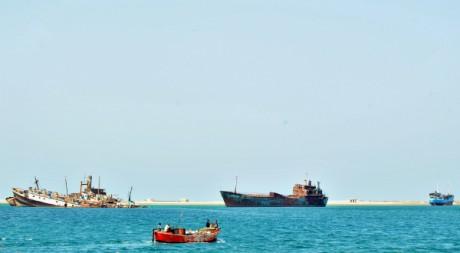 Le port de Berbera, au Somaliland. TONY KARUMBA / AFP