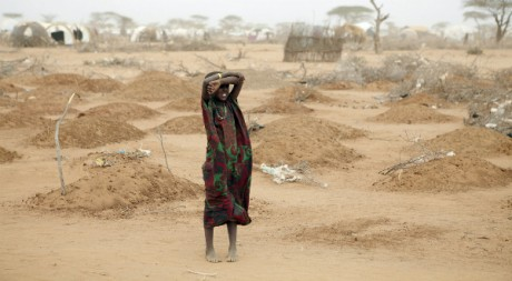 A mass grave for children in Dadaab, by Oxfam East Africa via Flickr CC