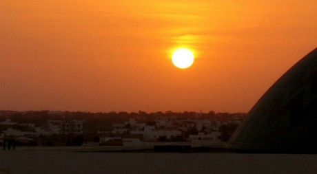 Sunset over Dakar, by The Wandering Angel via Flickr CC