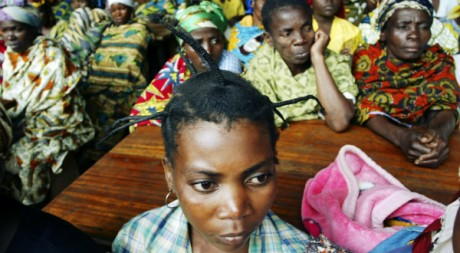 Des femmes victimes de violences sexuelles, au Sud-Kivu, RDC, le 6 septembre 2007. REUTERS/James Akena