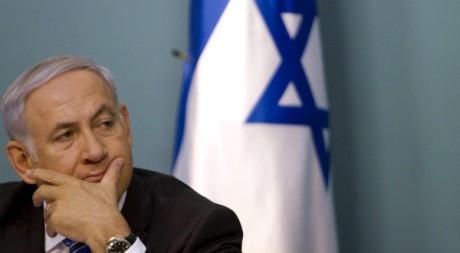 Le Premier ministre israélien Benjamin Netanyahou, le 26 juillet 2011, à Jérusalem. AFP PHOTO/POOL/ARIEL SCHALIT