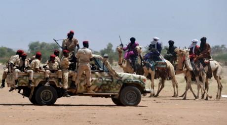 Patrouille de l'armée nigérienne dans le nord du pays © ISSOUF SANOGO / AFP