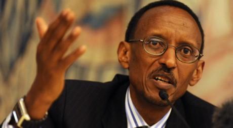 Paul Kagamé,  novembre 2008. © REUTERS/Kai Pfaffenbach