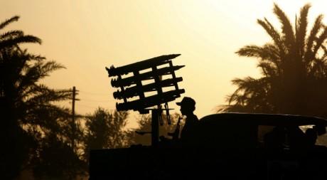 Un rebelle anti-Kadhafi à Al Washka, le 11 septembre 2011. REUTERS/Goran Tomasevic