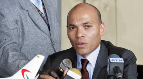 Karim Wade, le 6 mai 2009. AFP PHOTO/ SEYLLOU