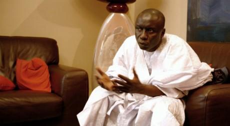Idrissa Seck, 23 février 2007, Dakar, REUTERS/Finbarr O'Reilly