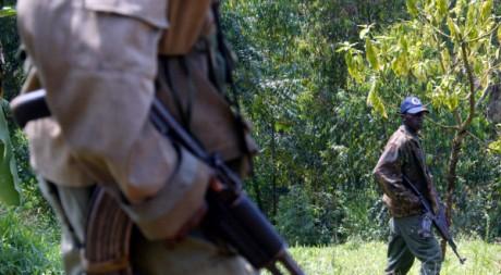 Soldats congolais du Rassemblement congolais pour la démocratie (2004) REUTERS/Radu Sigheti