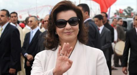 Leila Trabelsi à Tunis, le 11 octobre 2009. AFP/FETHI BELAID