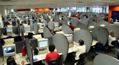 La plate-forme d'un centre d'appel. Flickr/Vlima