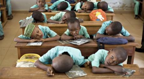 Elèves d'une madrasa (école islamique) de Yaoundé au Cameoun (2009) REUTERS/Finbarr O'Reilly