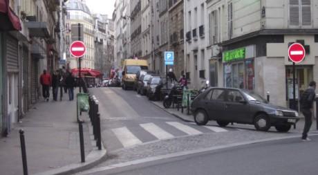Une rue du quartier Guy-Môquet à Paris © Raoul Mbog, tous droits réservés.