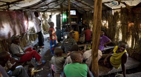 Des déplacés de guerre en RDC. © Finbarr O'Reilly / Reuters