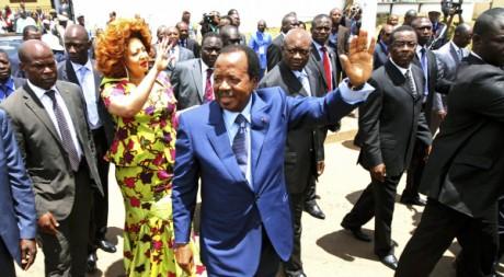 Paul Biya le jour de l'élection(2011) REUTERS/Akintunde Akinleye