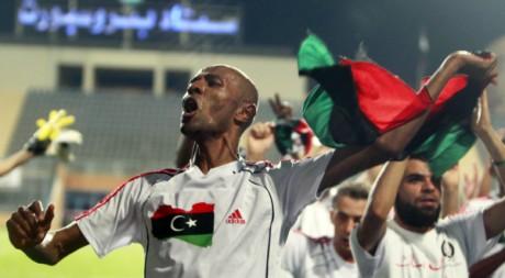 La Libye, équipe surprise de cette CAN, 2011. REUTERS/Amr Dalsh