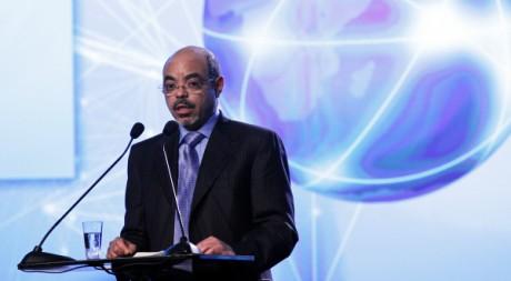 Meles Zenawi, Premier ministre éthiopien, le 10 octobre 2011. REUTERS/Scanpix Norway