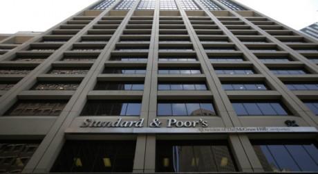 Le siège de l'agence de notation Standard&Poor's, à New York, 2011. REUTERS/Brendan McDermid.
