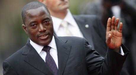 Joseph Kabila à Montreux, Suisse, 2010. © Valentin Flauraud / Reuters